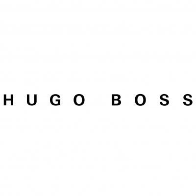 hugo boss logo i hvid