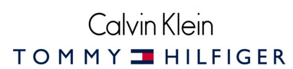 tommy hilfiger og calvin klein logo