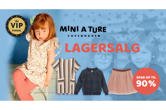 Mini A Ture lagersalg