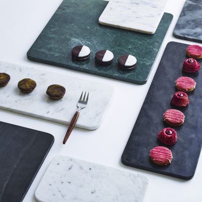 Louise Roe Lagersalg, tallerken-platter i marmor look