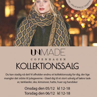 Unmade Copenhagen Lagersalgs invitation