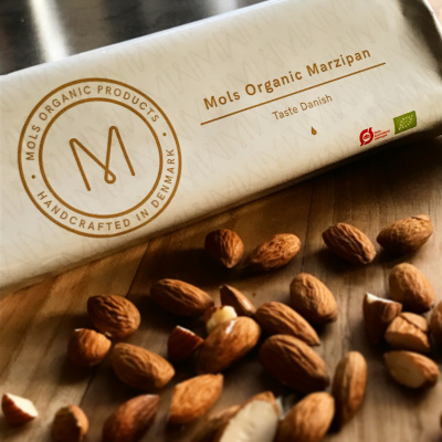 100 % økologisk marcipan fra Mols Organic