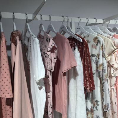 x-company lyserødt tøj