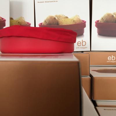 chokolade i rød kasse