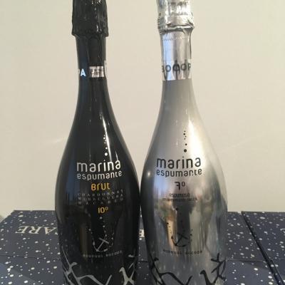 champagen mouserende vin