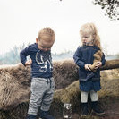 Brands4kids Lagersalg, babyer i grå og blåt tøj