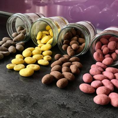 nødder i forskellige farver fra mols organic