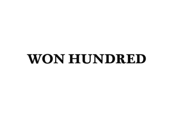 Won Hundred lagersalg