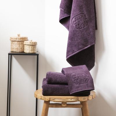 georg jensen damask lilla håndklæder på taburet