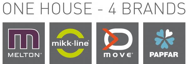 mikk-line melton, papfar og move logo