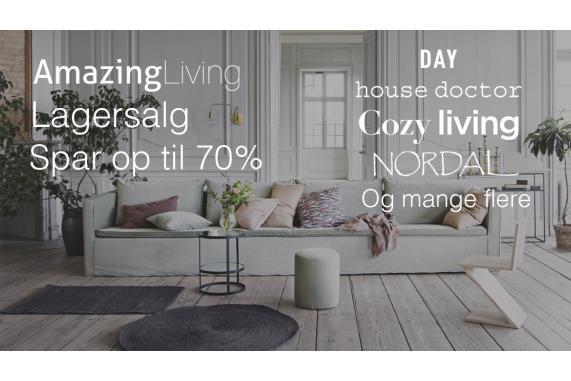 Amazing Living lagersalg