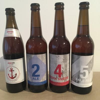 4 forskellgie deli øl