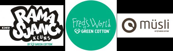 ramasjang kluns, freds world og musli logo