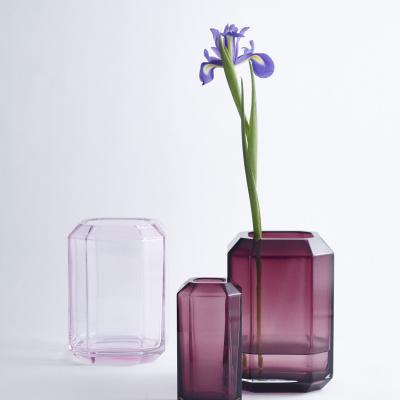 Louise Roe Lagersalg, 3 vaser i pink nuancer