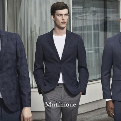 martinique tre mænd i jakkesæt