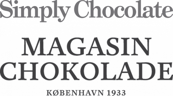 simply chocolate og magasin chokolade logo