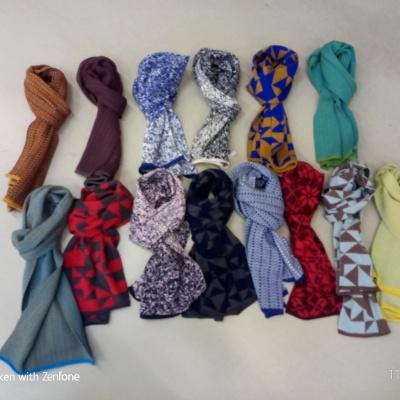elkjær halstørklæder i forskellige farver